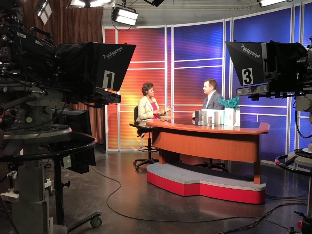 Dr. P. Interview with Karla Heath-Sands on WALB News-10