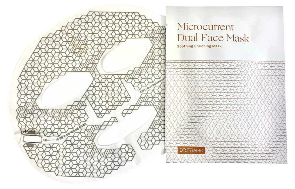 Microcurrent Dual Face Mask - Soothing Enriching Mask